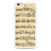 Music Note Winter White Mozart iPhone 6 Plus | 6s Plus case