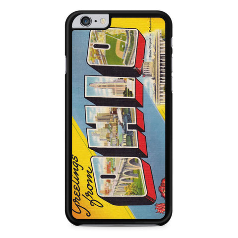 Ohio Postcard iPhone 6 Plus 6s Plus case