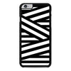 Black and White Zig Zag Stripes iPhone 6 Plus 6s Plus case