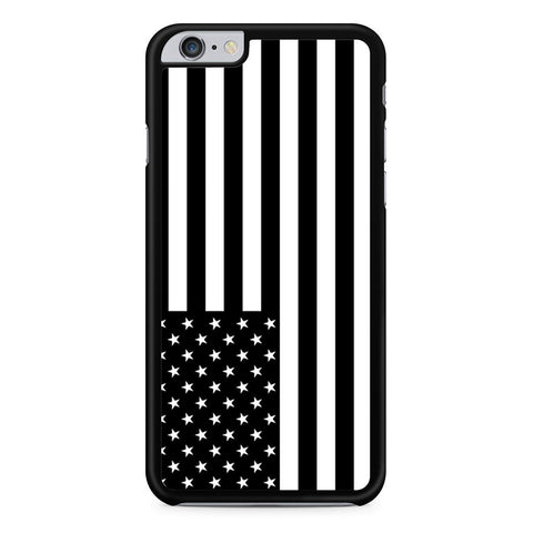 Black White American Flag iPhone 6 Plus 6s Plus case