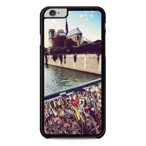 Paris Love Locks iPhone 6 Plus 6s Plus case