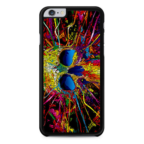 Trippy Skull Art iPhone 6 Plus 6s Plus case