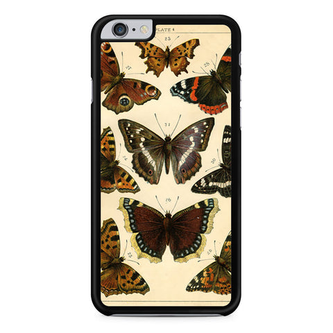 Vintage French Butterflies iPhone 6 Plus 6s Plus case