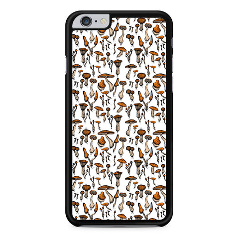 Stacked Mushrooms Pattern iPhone 6 Plus 6s Plus case