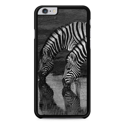 Zebra Drinking iPhone 6 Plus 6s Plus case