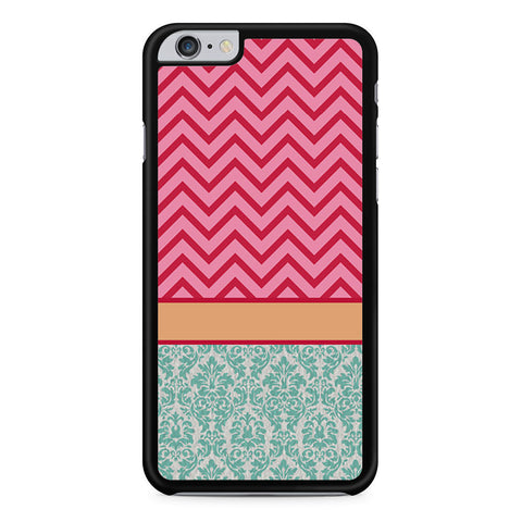 Chevron Damask Floral Pattern iPhone 6 Plus 6s Plus case