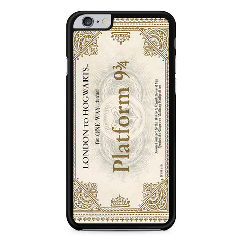 Hogwarts Express Train Ticket iPhone 6 Plus 6s Plus case