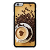 I Love Coffee Latter Art iPhone 6 Plus 6s Plus case