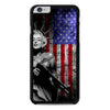 Marilyn Monroe Liberty Gun American Flag iPhone 6 Plus 6s Plus case