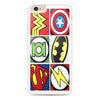Superhero Logo Flash Batman Captain America iPhone 6 Plus | 6s Plus case