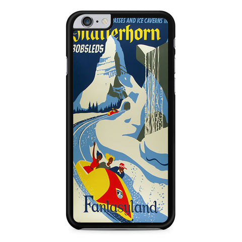 Matterhorn Fantasyland iPhone 6 Plus 6s Plus case