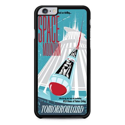 Space Mountain Poster iPhone 6 Plus 6s Plus case