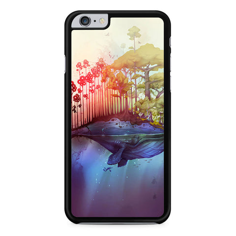 The Whale Island iPhone 6 Plus 6s Plus case