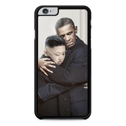 Obama and Kim Jong Un Hugging iPhone 6 Plus 6s Plus case