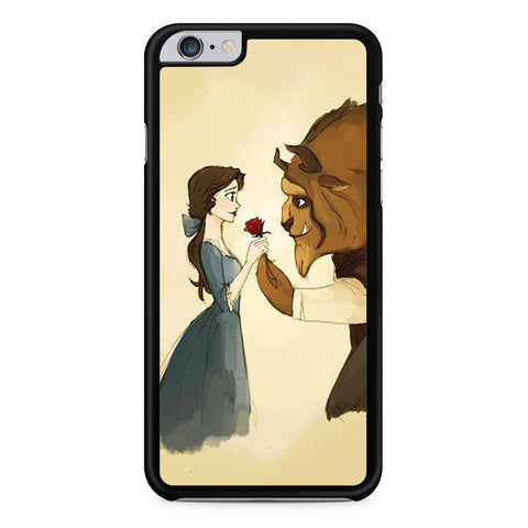Disney Beauty and The Beast Art iPhone 6 Plus 6s Plus case