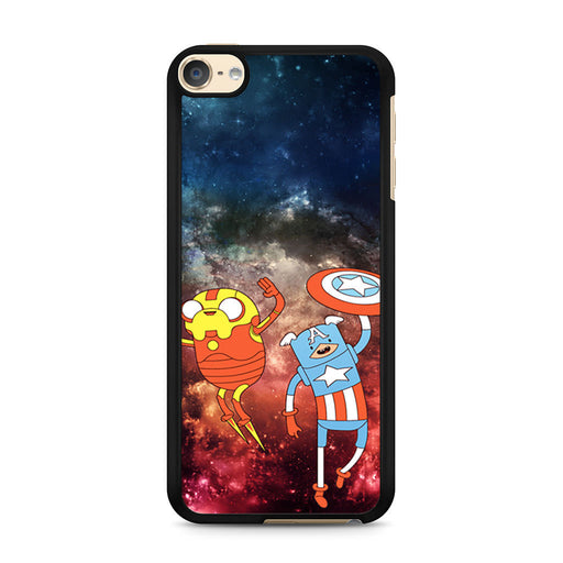 Adventure Time Avenger In Galaxy Space iPod Touch 6 case