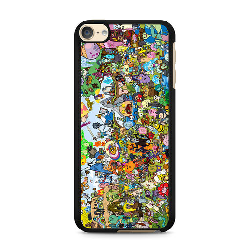 Adventure Time All Characters iPod Touch 6 case