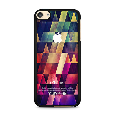 Abstract Apple Geometric iPod Touch 6 case