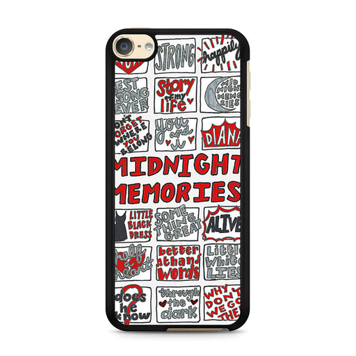 1D Midnight Memories Collage iPod Touch 6 case