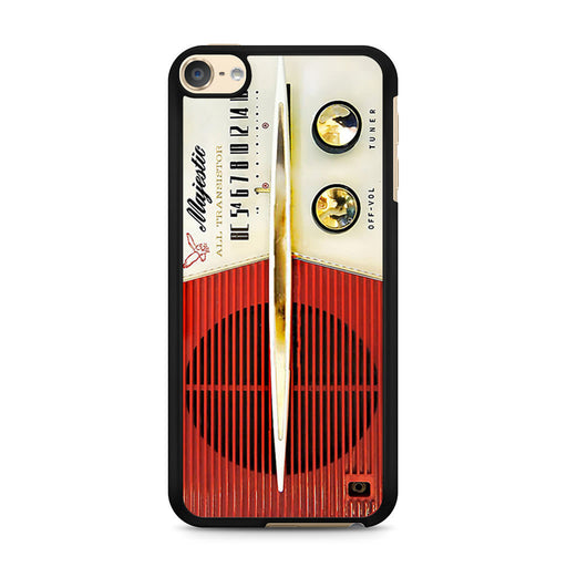 Classic Vintage Old Retro Majestic Radio iPod Touch 6 case