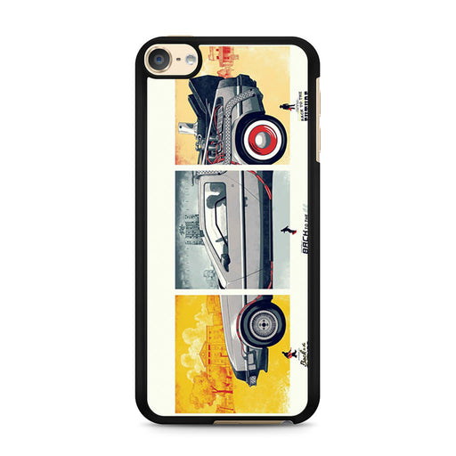 Back To The Future DeLorean DMC 12 iPod Touch 6 case