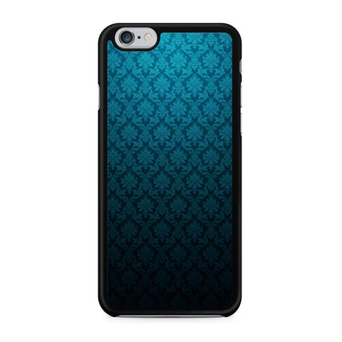 Blue Damask iPhone 6 6s case