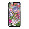 Flowers and Hummingbird Stained Glass iPhone 6 6s case