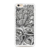 Zentangle Monogram iPhone 6/6s case