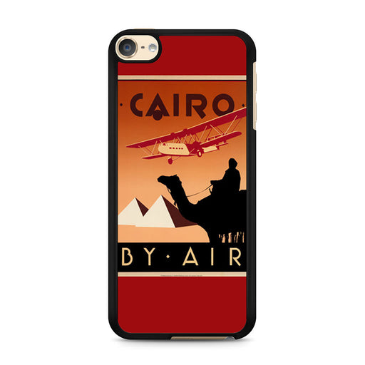Cairo Egypt Vintage Travel Poster iPod Touch 6 case