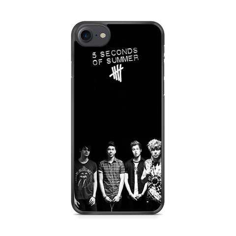 5 Seconds of Summer B/W Photograph iPhone 7 case
