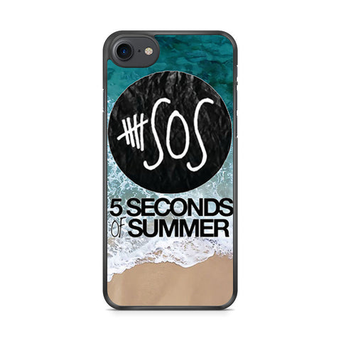 5 Seconds of Summer Band The Beach iPhone 7 case