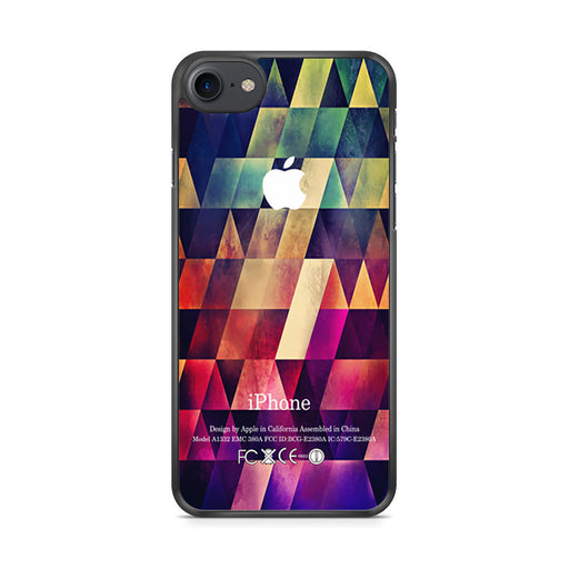 Abstract Apple Geometric iPhone 7 case