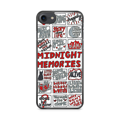 1D Midnight Memories Collage iPhone 7 case