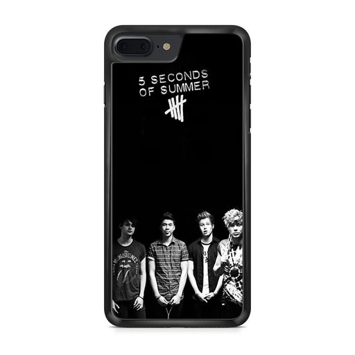 5 Seconds of Summer B/W Photograph iPhone 7 Plus case