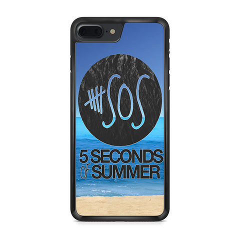5 Seconds of Summer Beach iPhone 7 Plus case