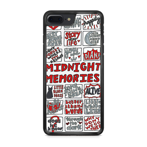 1D Midnight Memories Collage iPhone 7 Plus case