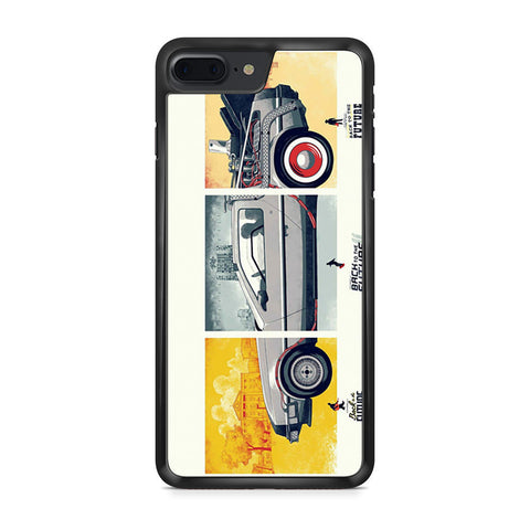 Back To The Future DeLorean DMC 12 iPhone 7 Plus case
