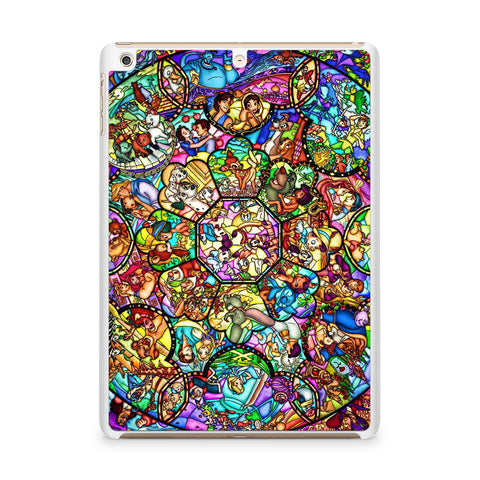 Disney Characters Stained Glass iPad Air case
