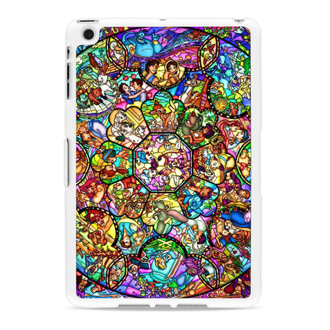 Disney Characters Stained Glass iPad Mini case