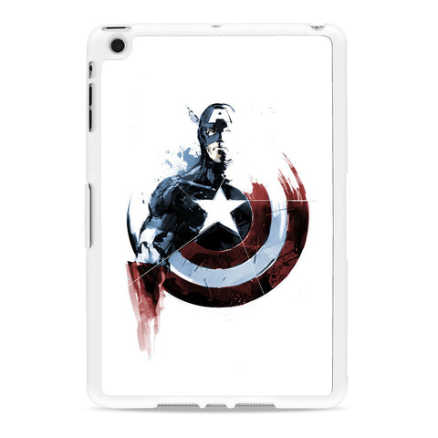 Captain America Watercolor iPad Mini case