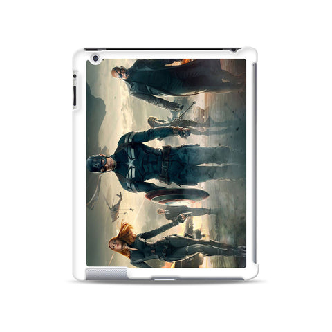 Captain America The Winter Soldier iPad case