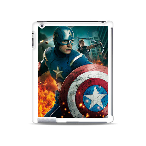 Captain America Avengers iPad case