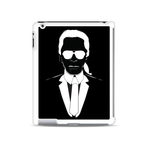 Black White Karl Lagerfeld iPad case