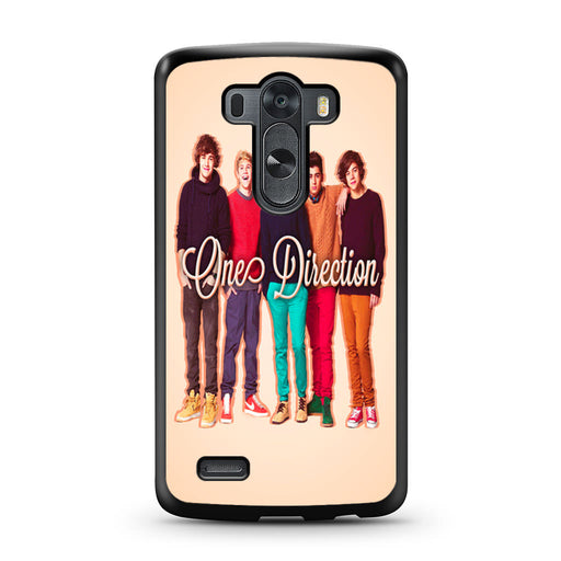 1D One Direction Personnel LG G3 case
