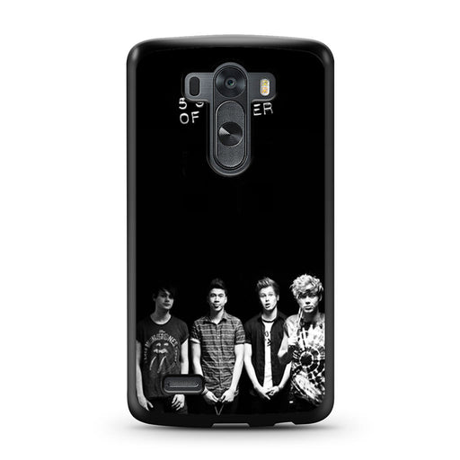 5 Seconds of Summer B/W Photograph LG G3 case