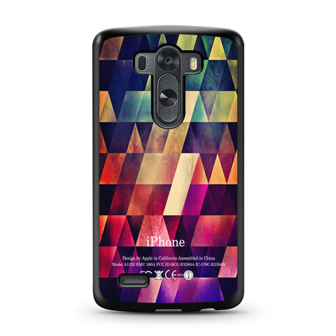 Abstract Apple Geometric LG G3 case
