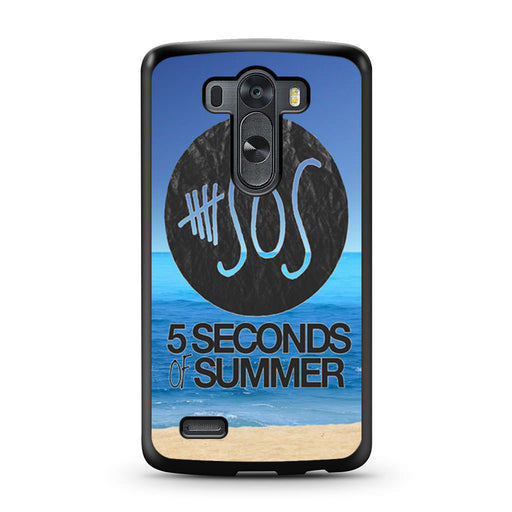 5 Seconds of Summer Beach LG G3 case