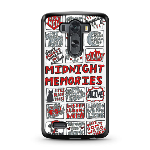 1D Midnight Memories Collage LG G3 case