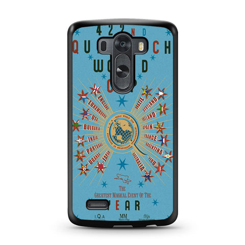 422nd Quidditch World Cup Poster LG G3 case