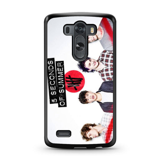 5 Seconds of Summer 5SOS Band LG G3 case